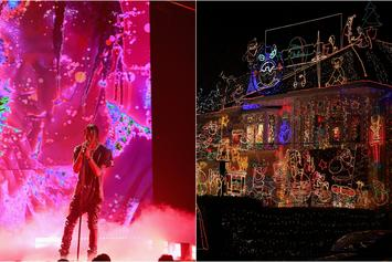 "Houston Man Turns Christmas Light Display Into A ""Sicko Mode"" Show"