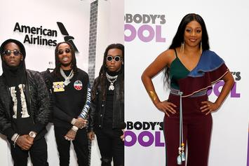 Migos Welcomes Tiffany Haddish As The Fourth Member Of The Group