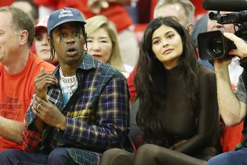 "Kylie Jenner Shares Backstage Footage From Travis Scott's ""Astroworld"" Tour"