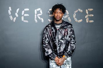 """21 Savage Says Meek Mill's """"Championships"""" """"Brought Tears"""" To His Eyes"""