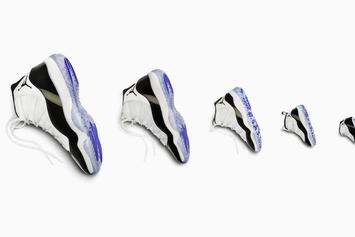 """Air Jordan 11 """"Concord"""" Releasing In Sizes For The Whole Family"""