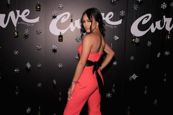 """Karrueche Reminds Us That """"Little Booties Matter"""" With Photo Of Her Behind"""