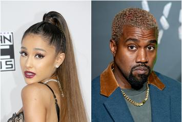"Ariana Grande Apologizes To Kanye West: ""It Was A Joke"""