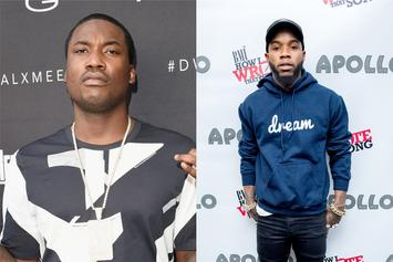 """Meek Mill Responds After Tory Lanez Says He Wants To """"Go To Heaven"""""""