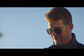 """Robin Thicke Delivers Laid Back Visuals For """"Testify"""""""