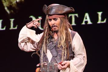 """Johnny Depp Has Been Cast Away From """"Pirates Of The Caribbean"""""""