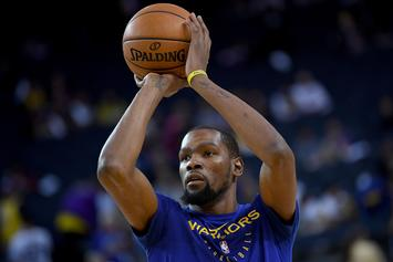 "Kevin Durant Talks Free Agency Plans, Says He Wants To ""Stack Money"""