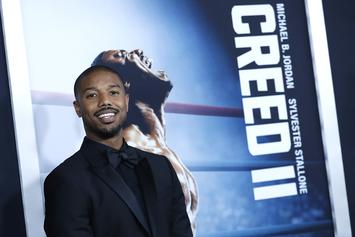 "Michael B. Jordan On Deontay Wilder In ""Creed III,"" ""It's A Cool Idea"""