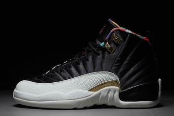 """Air Jordan 12 """"Chinese New Year"""" Detailed Images"""