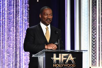 Eddie Murphy Reveals 3-Week Old Son Max To The World