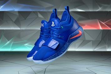 Playstation x Nike PG 2.5 Releasing In Royal Colorway: Purchase Links