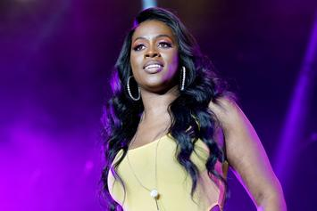 Remy Ma Is A Glowing Queen In Maternity Shoot Days Before Giving Birth