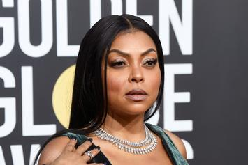 Taraji P. Henson Loses Jacket & Diamond Ring At The Golden Globes
