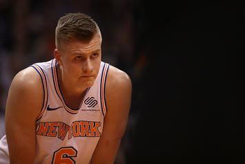 "San Antonio Spurs Have ""Significant Interest"" In Kristaps Porzingis: Report"