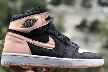 "Air Jordan 1 ""Crimson Tint"" Detailed Look"