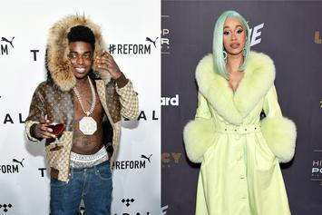 "Kodak Black Says He Wins If Cardi B Wins: ""That's My Twin"""