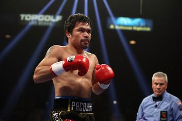 Manny Pacquiao's Home Broken Into A Day After Victory Over Adrien Broner