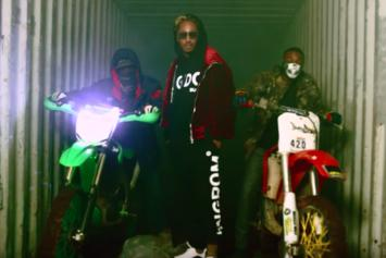 "Future Drops Off ""Rocket Ship"" Visuals"