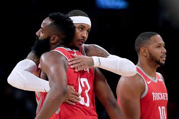 James Harden: Carmelo Anthony Deserves Another Chance