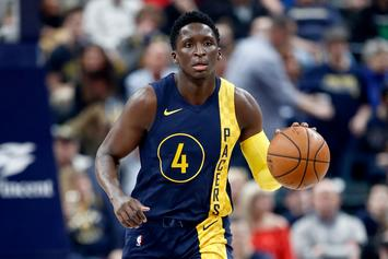 Victor Oladipo Leaves Court On Stretcher After Serious Knee Injury