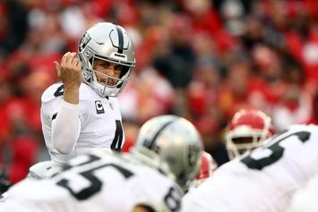 Derek Carr Challenges Stephen A. Smith And Max Kellerman To A Fight