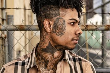 Blueface Comes Face To Face With Charlamagne Tha God On Breakfast Club