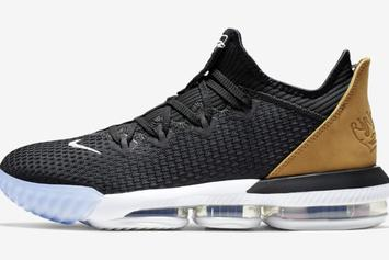 Nike LeBron 16 Low First Images Revealed