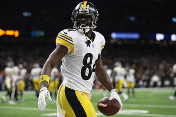 Antonio Brown Was Not Arrested During January Domestic Dispute