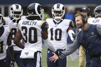 Sean McVay Explains Todd Gurley's Limited Super Bowl Playing Time
