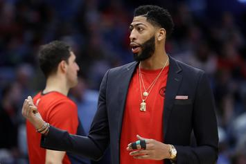 Anthony Davis Won't Play For Pelicans Until After The Trade Deadline