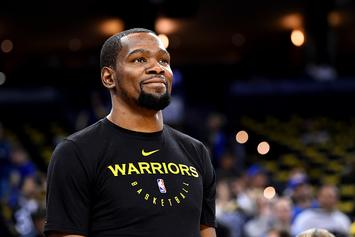 """Kevin Durant Rips Media: """"I Dont' Trust None Of Y'all"""""""