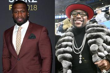 50 Cent Insults Floyd Mayweather With Gucci Blackface Sweater Photo