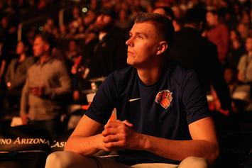 "New York Knicks Cancel ""Latvian Heritage Night"" After Trading Porzingis"