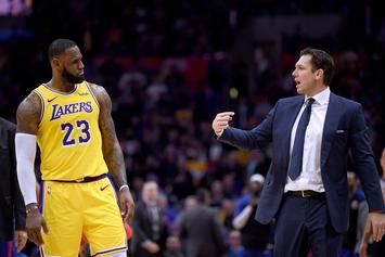 """Luke Walton Says Relationship With LeBron James Is """"Just Fine"""""""