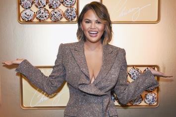"""Chrissy Teigen Says She Chipped Her Tooth Filming """"Family Feud"""" Episode"""