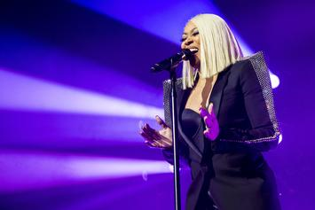 Monica Dedicates Song To T.I.'s Sister Precious Harris During Concert