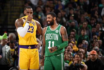 """Kyrie On Apologizing To LeBron: """"A Step For Me To Move Forward In My Life"""""""