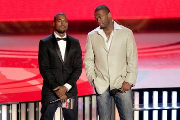 """50 Cent Reacts To Fake Kanye West Story: """"This Boy Is Really Handicap"""""""