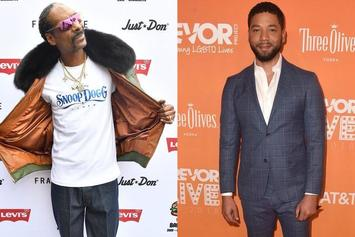 "Jussie Smollett Clowned By Snoop Dogg With ""Scooby Doo"" & Lionel Richie Memes"