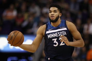 """Karl-Anthony Towns Says He's """"Lucky To Be Alive"""" After Car Accident"""