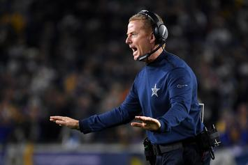 "Dallas Cowboys Say Jason Garrett's ""Back Is Against The Wall"""