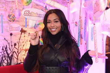 "Jordyn Woods Changes Her Tristan Thompson Story On ""Red Table Talk"""