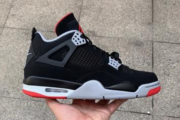 "Air Jordan 4 ""Bred"" New Images And Rumored Release Date Revealed"