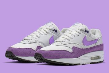 "Nike Air Max 1 Will Come In A Vibrant ""Atomic Violet"" Colorway"