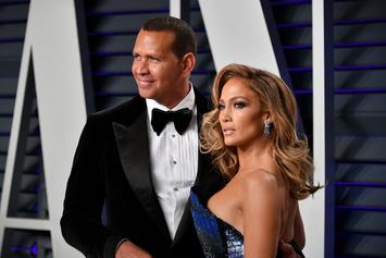 Jennifer Lopez Shares Photos Of The Moment A-Rod Popped The Big Question