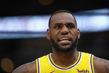 "LeBron James Looking To ""Finish Out Strong"" Despite Rough Season"