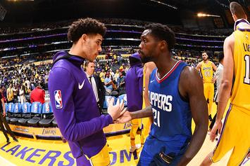 "Patrick Beverley Describes Lonzo Ball In One Word: ""Easy"""