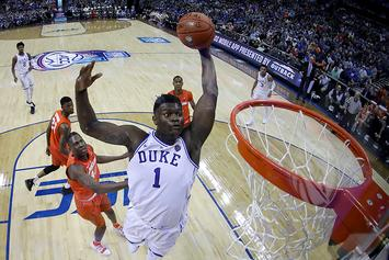 Zion WIlliamson Scores 29 Points In Duke Blue Devils Return