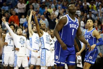 Zion Williamson Hits Game Deciding Shot Over Rival North Carolina
