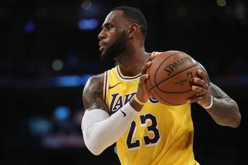 """LeBron James Compliments The Lakers, Says They """"Cater To The Players"""""""